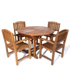 <strong>All Things Cedar</strong> 5 Piece Butterfly Dining Set