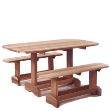 <strong>All Things Cedar</strong> 3 Piece Dining Set