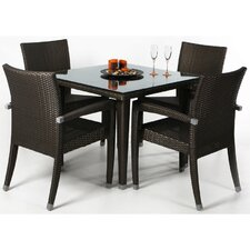 <strong>All Things Cedar</strong> 5 Piece Dining Set