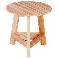 <strong>All Things Cedar</strong> Tripod Side Table