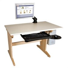 "Computer Aided Design Art 48""W x 30""D Drafting Table"
