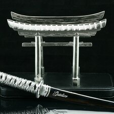 Desktop Japanese Gate Letter Holder