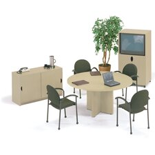 Self Edge 5' Round Conference Table