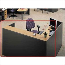 <strong>ABCO</strong> Unity Series 3 Drawer Full Pedestal Reception Desk