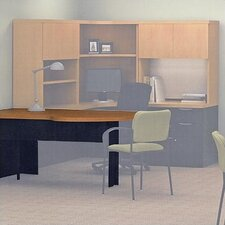 "<strong>ABCO</strong> Unity Executive Series 29"" H x 66"" W Freestanding Straight Peninsula"