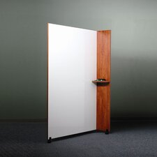 "Mobile 6' x 4' 1"" Whiteboard"