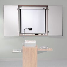 "Conference Cabinet 4' x 4' 1"" Whiteboard"