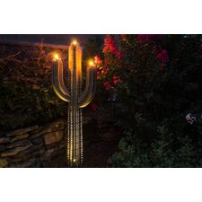Saguaro Cactus with Three Torches