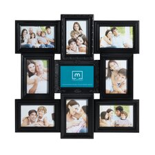 9 Opening Multi Profile Collage Picture Frame