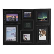 <strong>Melannco</strong> 7 Opening Multiple Profile Collage Picture Frame