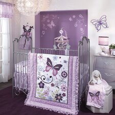 Butterfly Lane 5 Piece Bedding Set