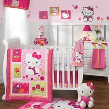 Hello Kitty® Garden 5 Piece Bedding Set