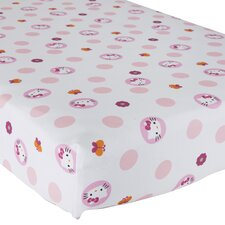 Hello Kitty® Garden Fitted Sheet