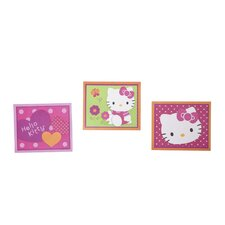 Hello Kitty® Garden 3 Piece Decorative Wall Hanging Set