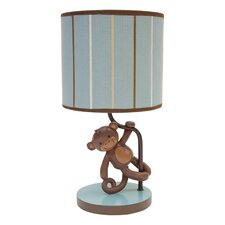 """Giggles 11"""" H Table Lamp with Drum Shade"""