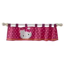 "Hello Kitty® Garden 53.5"" Window Valance"