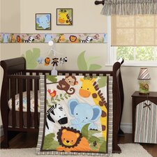 Jungle Buddies 3 Piece Bedding Set