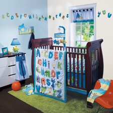 Alpha Baby 4 Piece Bedding Set