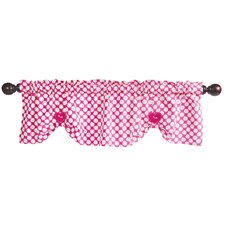 "Puppy Tales 53.5"" Window Valance"