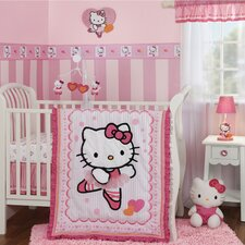 Hello Kitty® Ballerina 3 Piece Bedding Set