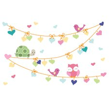 Sprinkles 4 Piece Wall Appliques Set