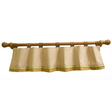 Enchanted Forest Tab Top Tailored Curtain Valance