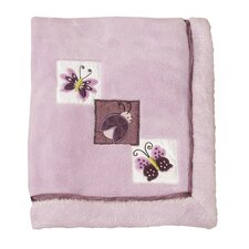 Luv Bugs Plush Blanket with Applique