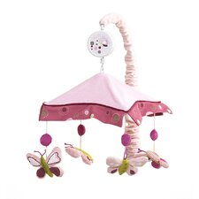 <strong>Lambs & Ivy</strong> Raspberry Swirl Musical Mobile