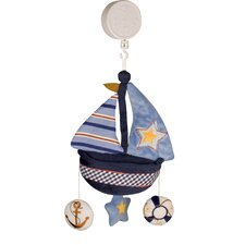 <strong>Lambs & Ivy</strong> Sail Away Musical Mobile