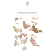 Little Princess Ceiling Sculpture - Love Birds