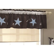 Rock 'N Roll Window Curtain Valance