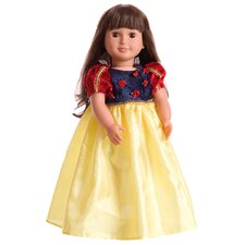 Deluxe Snow White Doll Dress