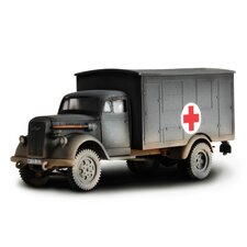 Forces of Valor German Sd. Kfz. 251/1 Ambulance Car