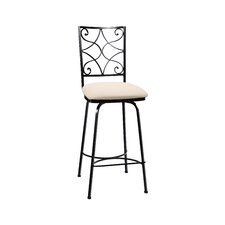 "Camino 30"" Swivel Bar Stool with Cushion"