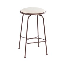 "<strong>Charleston Forge</strong> Providence 30"" Swivel Bar Stool with Cushion"