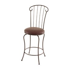 "<strong>Charleston Forge</strong> Coventry 26"" Swivel Bar Stool with Cushion"