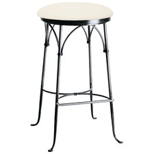 "<strong>Charleston Forge</strong> Shaker 26"" Swivel Bar Stool with Cushion"