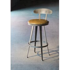 "Aries 30"" Swivel Bar Stool with Cushion"