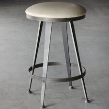 "Aries 26"" Swivel Bar Stool with Cushion"