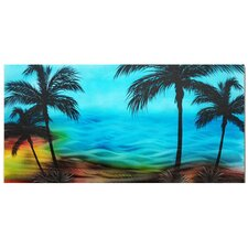 <strong>Pure Art</strong> Tropical Twilight Handcrafted Aluminum