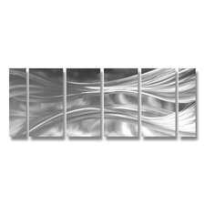 Silk Parallel Handcrafted Aluminum
