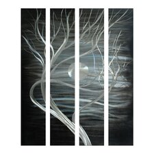 <strong>Pure Art</strong> Moonlight on Foliage Aluminum