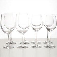 Vino Vino 8 Piece Red and White Wine Glass Set