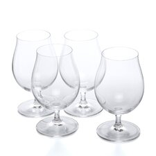 Vino Vino Stemmed Pilsner Beer Glass (Set of 4)