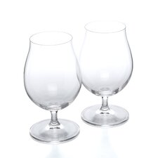Stemmed Pilsner Beer Glass (Set of 2)