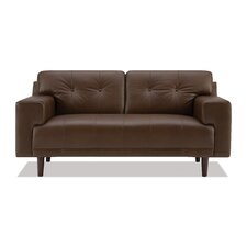 <strong>EQ3</strong> Byrd Leather Loveseat