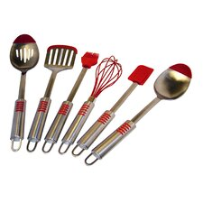 <strong>Le Chef</strong> S Tip 6 Piece Utensils Set