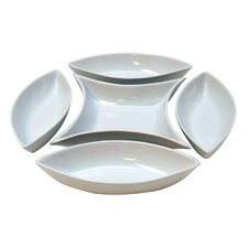 5 Piece Ceramic Server Set