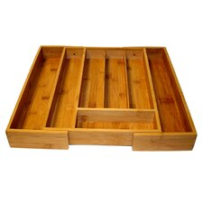 <strong>Le Chef</strong> Expandable Bamboo Tray
