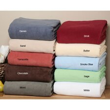 <strong>LCM Home Fashions</strong> Supreme Polyester Fleece Blanket